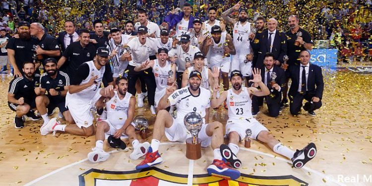 Real Madrid de baloncesto.