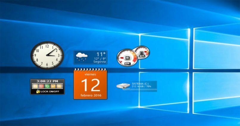 habilitar gadgets windows 10 y 8 descargar
