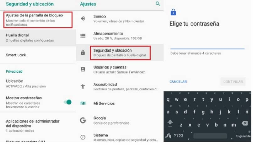 iphone android bloquear pantalla